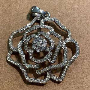 Jewelry - Rose CZ pendant (no chain included)